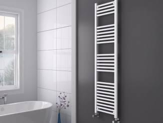 Sanifun handdoek radiator Medina 180 x 40 Wit.