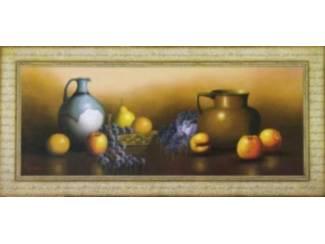 Schilderijen Stilleven met Fruit of Bloemen B