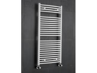 Sanifun handdoek radiator Medina Gebogen 180 x 50 Wit.
