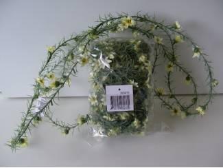 BLOEMGUIRLANDE bloemen slinger 8 stuks Nieuw