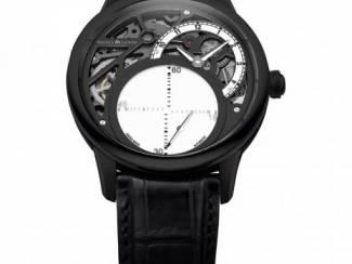Manufacture horloge met glijdende secondenwijzer