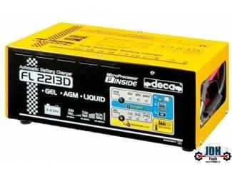 DECA FL 2213D Acculader 22 Amp 6,12 en 24 Volt