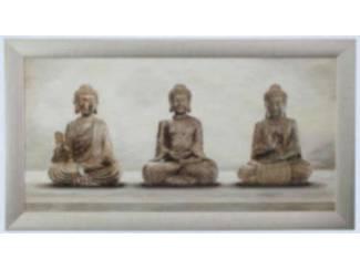 Schilderij Boeddha Drie Eenheid Boeda Boeddha Budda Buddha