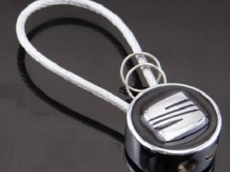 Seat sleutelhanger(zwart)