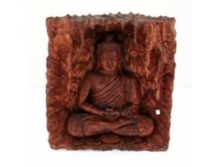 Boeddha Beeld Inside Uitgesneden Boedha (A)