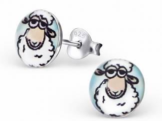 Oorbellen rond schaapjes