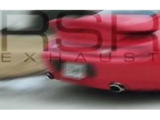 Porsche 993 RSR uitlaten - Sportuitlaat
