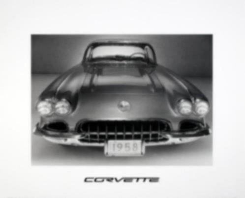 Poster Corvette Corvettes Auto (A)