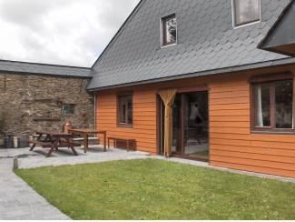 Ardennen: heerlijk huis met sauna (10-12 p) bij Bouillon