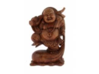 Houten Dikbuik Boeddha