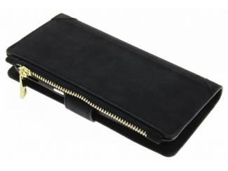 Zwarte luxe portemonnee hoes voor de Samsung Galaxy A3