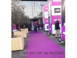 Violet loper kopen voor beurs en evenement