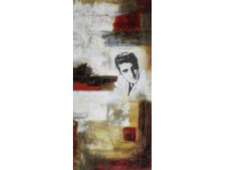 Abstract Schilderij Elvis Presley