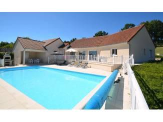 Luxueuze villa met verwarmd privézwembad in de Dordogne