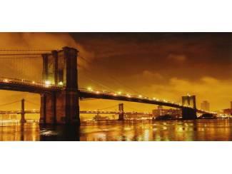 Glossy Schilderij New York Brooklyn Bridge