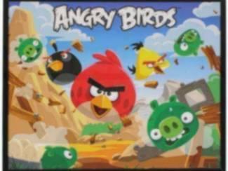 Vogel Angry Birds Posters met glas