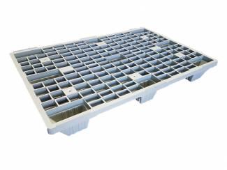 Kunststof lichtgewicht nestbare export plastic pallet