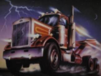 Vrachtwagens Amerika Posters