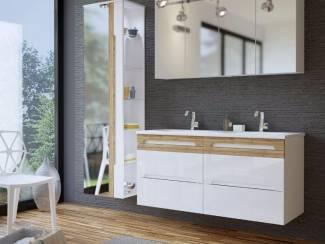 Meuble de salle de bains Sanifun Galaxy White 120-SP.