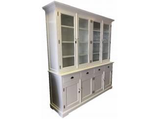 Grote 4 deurs buffetkast wit - wit 225cm breed