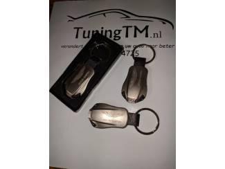 Accessoires en Tuning Aston Martin Sleutelhanger gegraveerd met dubbele blauwe led