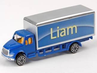 Overige Verzamelen Verjaardagscadeau leuke groene model truck met je naam