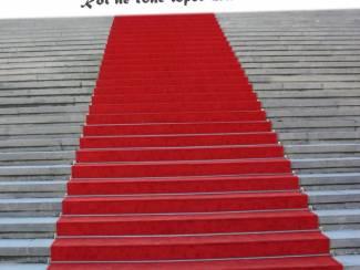 Rode loper voor Gala of evenement