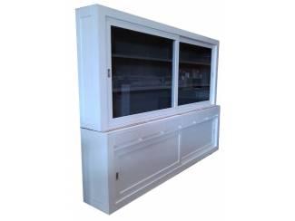 Buffetkast design Novum wit - grijs 300 x 215cm