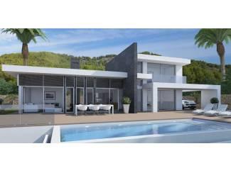 Moderne villa te bouwen in Benissa, Javea of Moraira