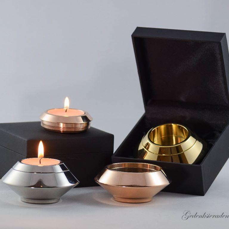 Assieraden | mini urnen edelstaal | mini urnen messing | Ashanger