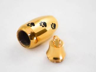 Kettinghangers Assieraden | mini urnen edelstaal | mini urnen messing | Ashanger