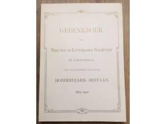 Gedenkboek nieuwe of littéraire sociëteit te 's-Gravenhage