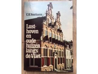Lusthoven en oude huizen langs de Vliet - C.H. Voorhoeve