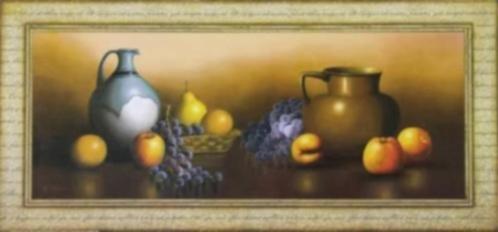 Schilderij Stilleven Bloemen, Pioenrozen van Lens en Lens