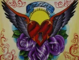 Poster Tattoo True Love