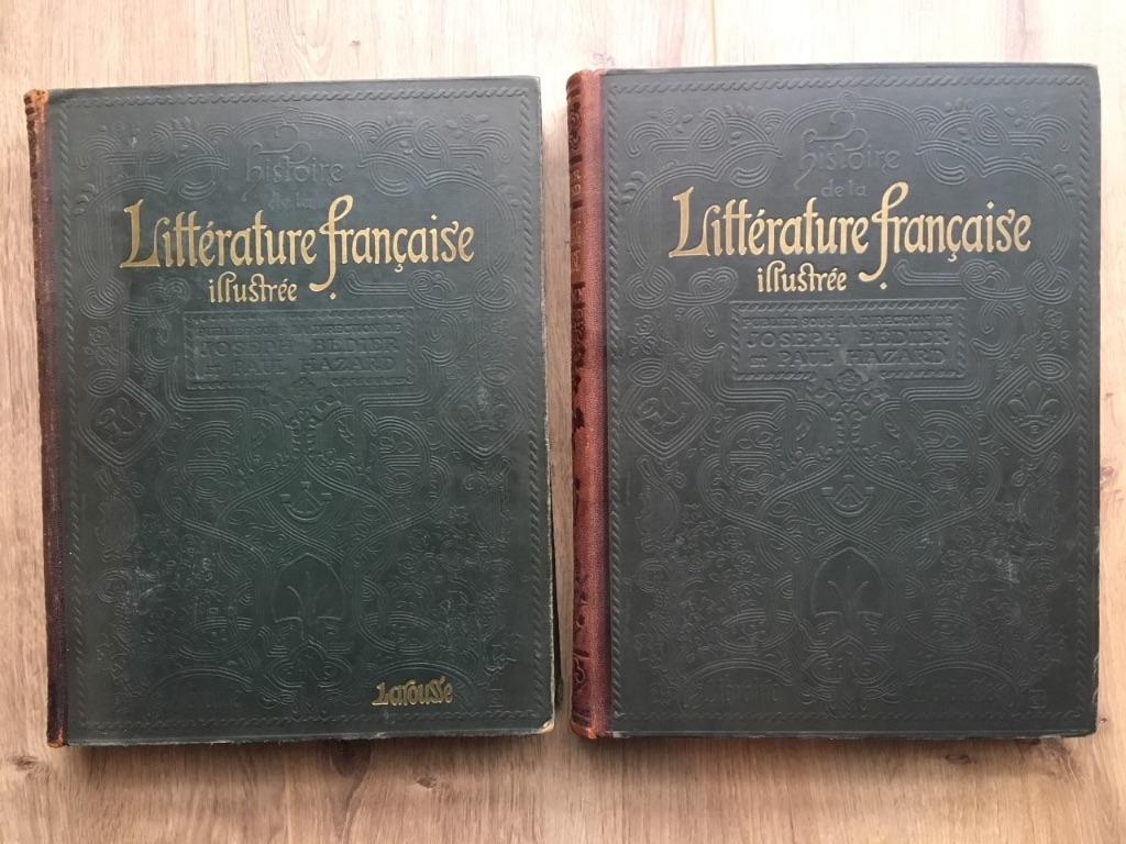 Littérature francaise illustrée - Joseph Bédier, Paul Hazard
