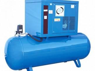 Geluid gedempte compressor 500L 2 Cil. 7,5 PS 400V RP-GA-GG1310