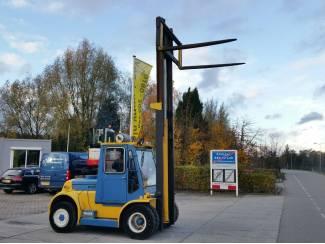 Bouwmachines Hyster 7 ton diesel