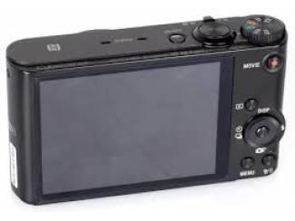 SUPER AANBIEDING 33% KORTING Sony DSC-WX350 - Zwart