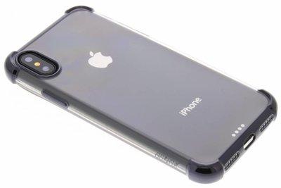360° Armor TPU Case iPhone X - Zwart / Black