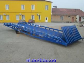 Heftruck laadbruggen Ausbau voor magazijn