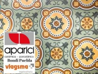Groene Designtegels Portugese Vloertegels Aparici