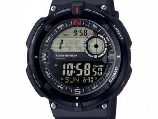 Casio Sport Zwart digitaal horloge met kompas en thermometer