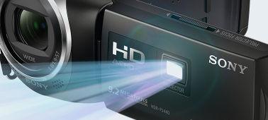 Sony HDR PJ-410 Compacte HD camcorder met WiFi