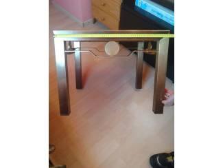 Tafels retro messing salontafel