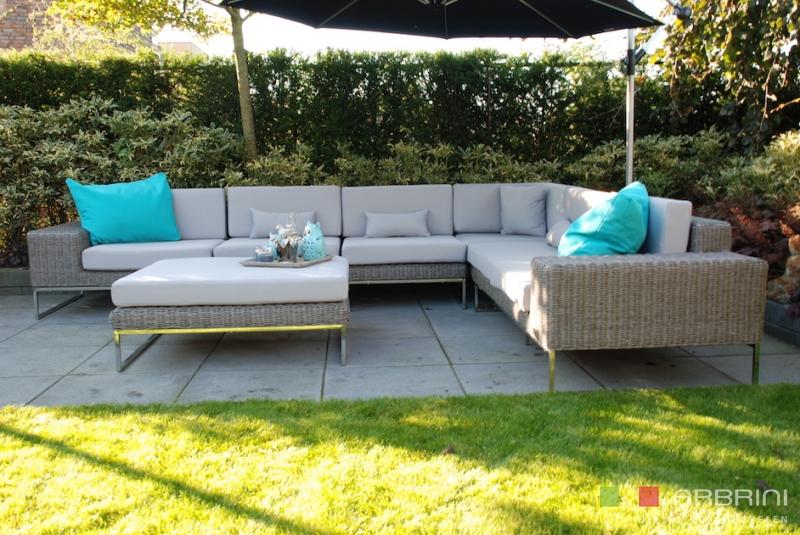 Aanbieding Loungebank Tuin : Loungebank buiten awesome steigerhout loungeset loungestoel met