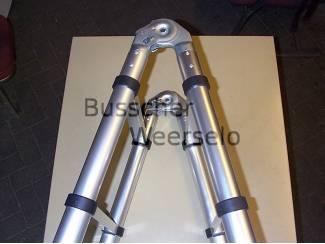 Aluminium Klap+Telescoop ladder 3.8 meter Voorradig Ladders