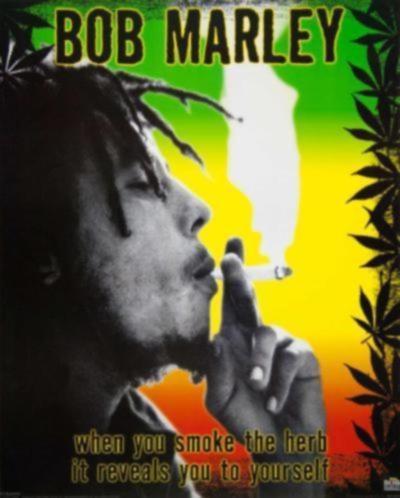 Verschillende Posters Bob Marley