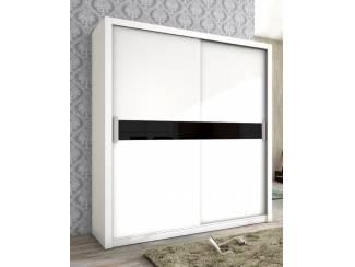 AANBIEDING Moderne kledingkast wit of antraciet NU 319,- NIEUW