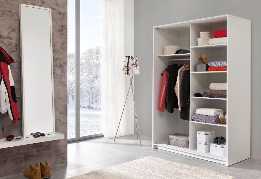 Aanbieding moderne kledingkast wit of antraciet nu 319 nieuw kasten en dressoirs - Kledingkast en dressoir ...